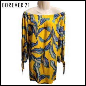 Forever 21 Mustard Summer Dress